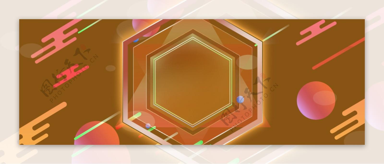 简约几何通用背景素材