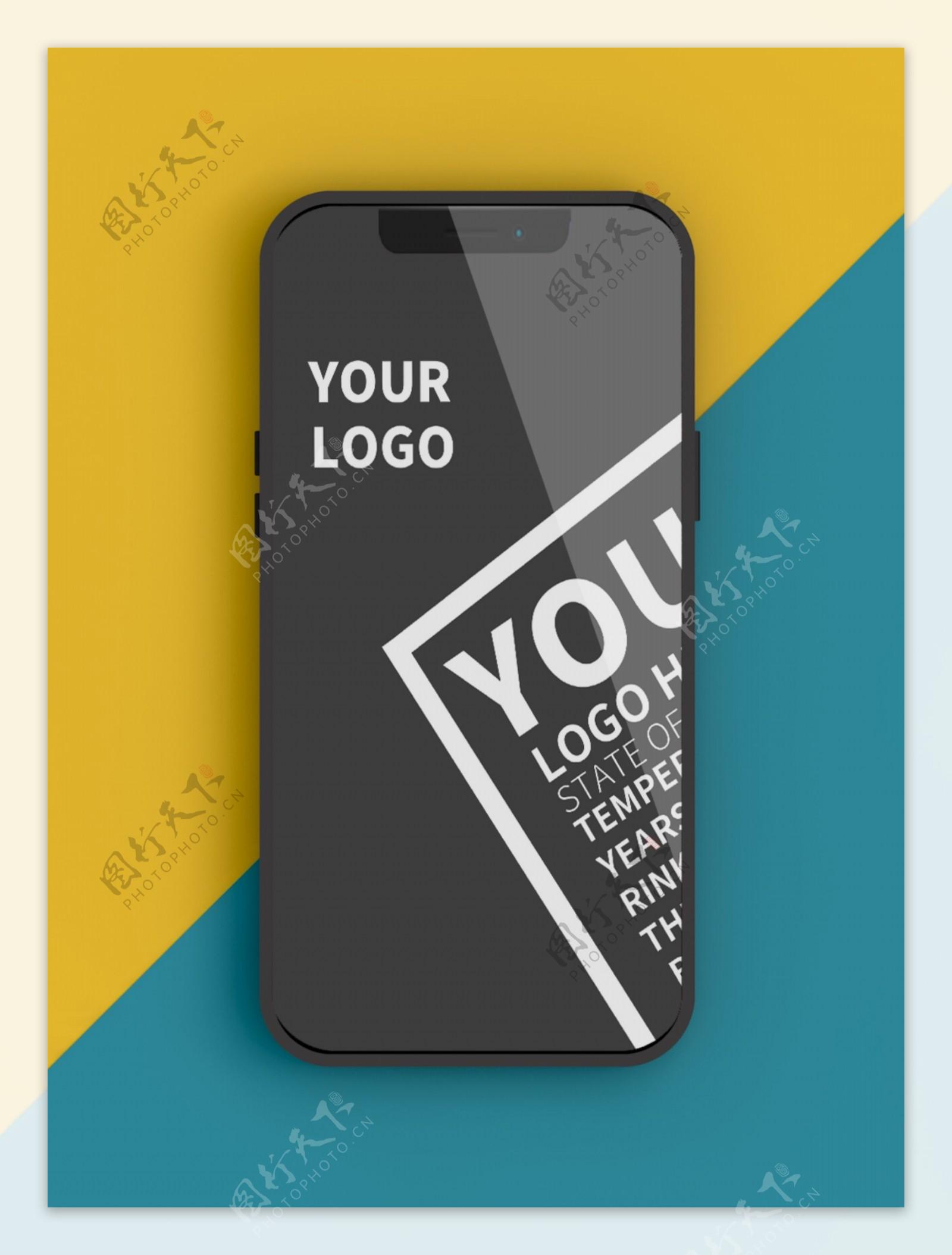 原创模型iPhone11手机UI样机
